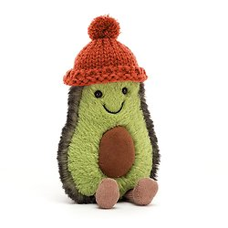 Peluche Jellycat Avocat - Amuseable Avocado Papaya - COZ4P 16 cm