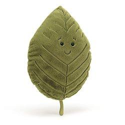 Peluche Jellycat Feuille de Hêtre - Woodland Beech Leaf - LEAF2B 41 cm