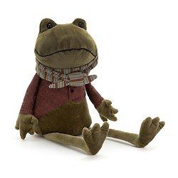 Peluche Jellycat grenouille – Riverside Rambler Frog – RIV3F 33cm