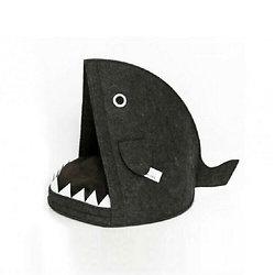Panier pour chien ou chat original - Tête de requin