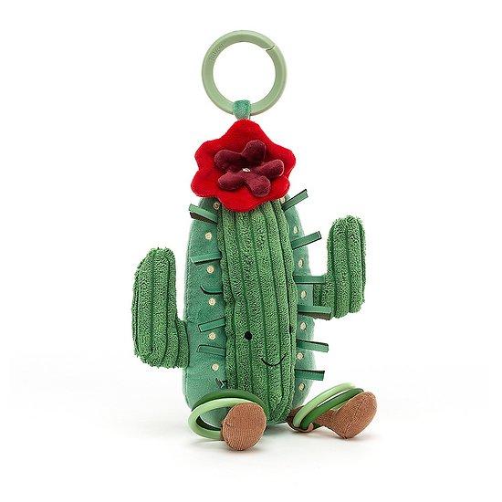 Jouet d'activités bébé Jellycat Cactus - Amuseable Cactus Activity Toy - AAT2C