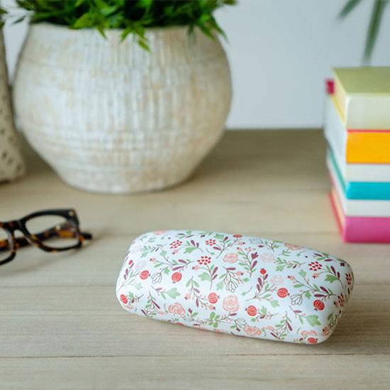 Etui à lunettes blanc avec imprimés - Balvi