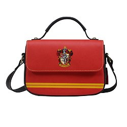 Sac en bandoulière rouge Griffondor - Harry Potter