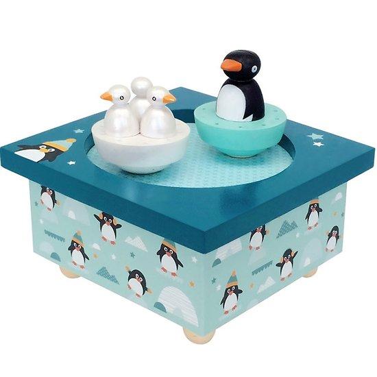Boite à musique - Dancing Pingouins - Trousselier