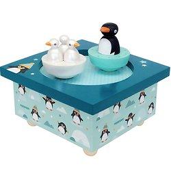 Boite à musique - Dancing Pingouins