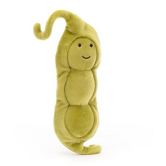 Peluche Jellycat Petit Pois – Vivacious Vegetable Pea - VV6PEA - 17 cm