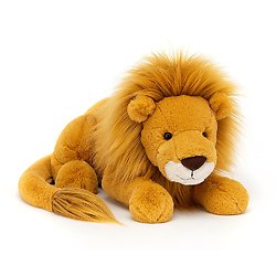 Peluche Jellycat lion – Louie Lion Large – LOU1L 46 cm