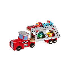 Camion Porte Voitures en bois