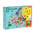 Puzzle 70 pièces - Carte de l'Europe