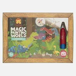 Coloriage magique - Dinosaures