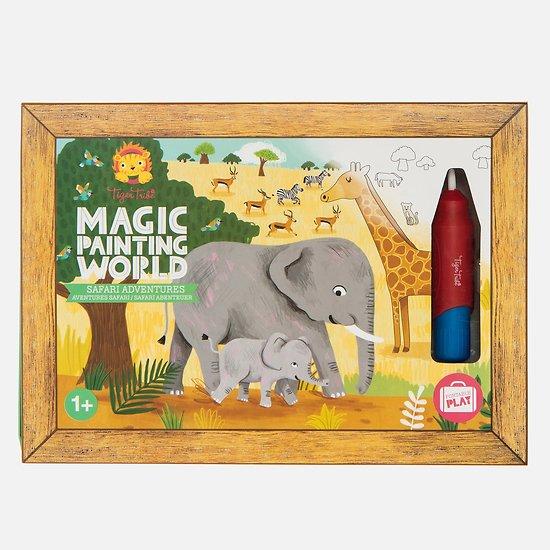 Coloriage magique - Safari