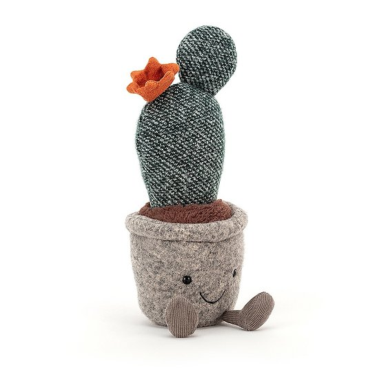 Peluche Jellycat Cactus– Silly Succulent Prickly Pear Cactus - 24 cm