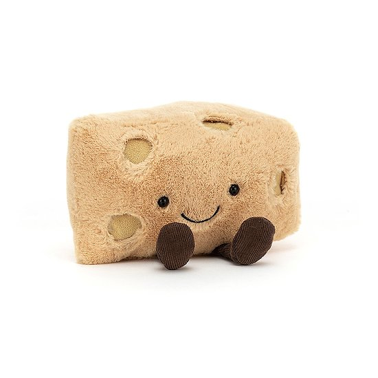 Peluche Jellycat Fromage Suisse - Amuseable Swiss - A2SWISS 16 cm