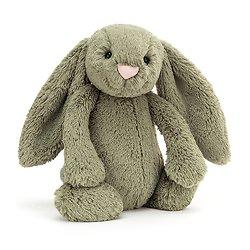Peluche Jellycat Kaki - Bashful Fern Bunny - Medium BAS3FERN 31cm