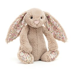 Peluche Jellycat lapin beige – Blossom Bea Beige – Small BLN6BB 18cm