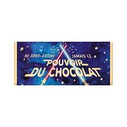 Tablette chocolat cadeau BIO - Ne sous estime jamais le pouvoir du chocolat