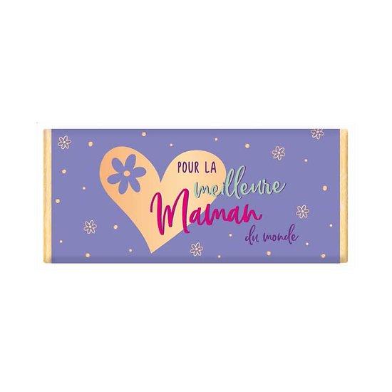Tablette chocolat cadeau BIO - Pour la meilleure Maman du monde