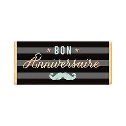 Tablette chocolat cadeau BIO - Bon Anniversaire