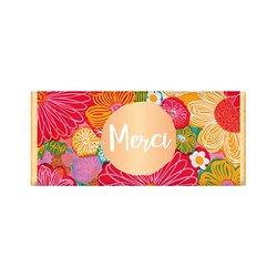 Tablette chocolat cadeau BIO - Merci