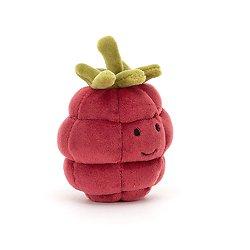 Peluche Jellycat Framboise – Fabulous Fruit Raspberry - FABF6R 10cm