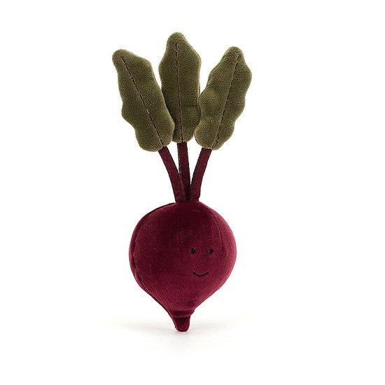 Peluche Jellycat Betterave – Vivacious Vegetable Beetroot - VV6BEET 22cm