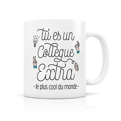 Mug porcelaine pour un Collegue extra
