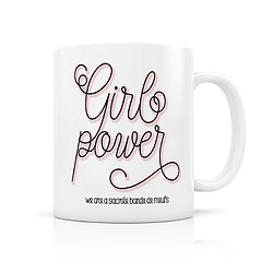 Mug porcelaine Girl power