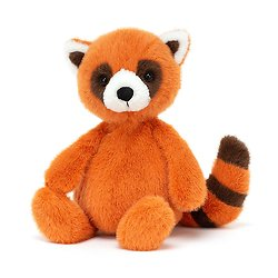 Peluche Jellycat Panda Roux – Whispit Red Panda – WHIS3RP 26 cm