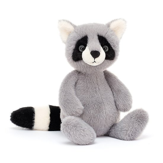 Peluche Jellycat Raton Laveur – Whispit Raccoon – WHIS3RA 26 cm
