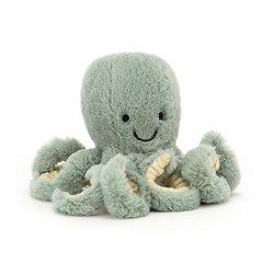 Peluche Jellycat Pieuvre – Odyssey Octopus - Tiny 14 cm - ODYB4OC