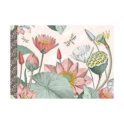 Cahier illustré - Fleurs / Gwenaëlle Trolez Créations
