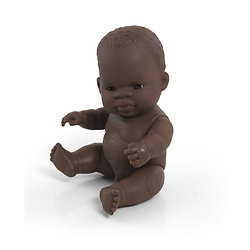Poupée Miniland - Garçon africain 21 cm