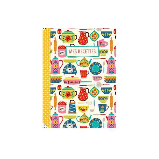 Cahier mes recettes - Gwenaëlle Trolez Créations