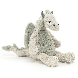 Peluche Jellycat Dragon – Lallagie Dragon - LAL3D 39 cm