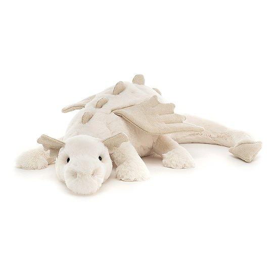 Peluche Jellycat Dragon des neiges – Snow Dragon – SNW2DD 12x50cm