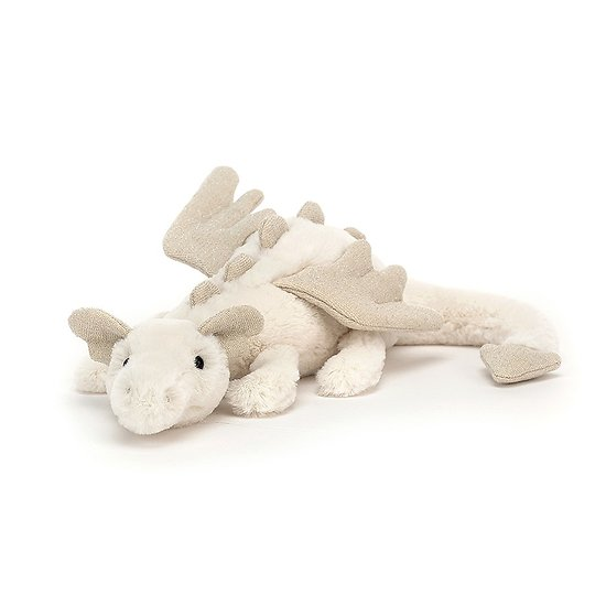 Peluche Jellycat Dragon des neiges – Snow Dragon – SNW6DDL 7x26cm