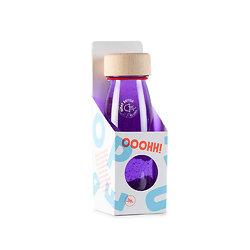 Bouteille Sensorielle Montessori Bébé Petit Boum Float Purple