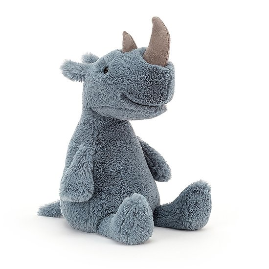 Peluche Jellycat Rhinocéros - Rumpa Rhino - RUMP3R 30cm