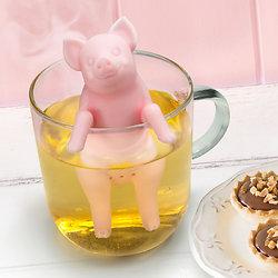 Infuseur à Thé Petit cochon rose