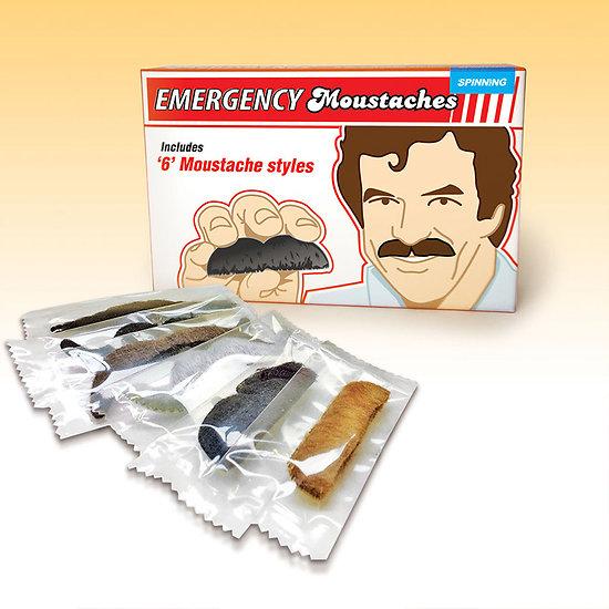 Urgence Moustache - Lot de 6 moustaches adhésives