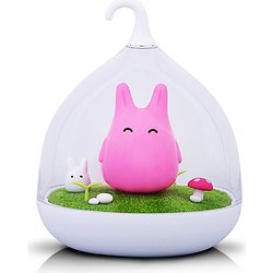 Veilleuse tactile et rechargeable Chibi Totoro Led - Rose