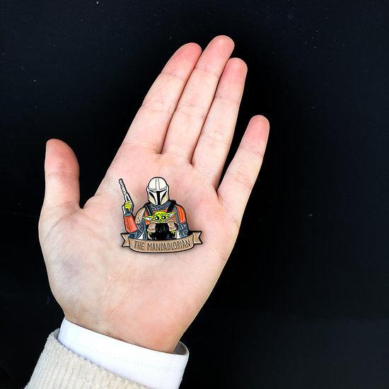 Pin's original - Mandadlorian / Bebe Yoda