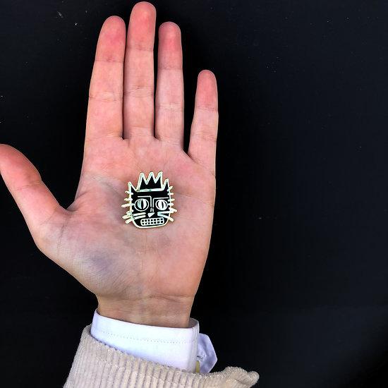 Pin's original Jean Michel Basquiat - Le Chat
