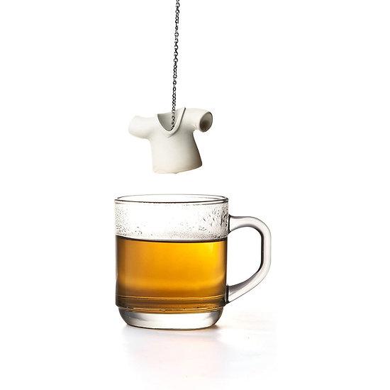 Infuseur à Thé blanc Tea Shirt