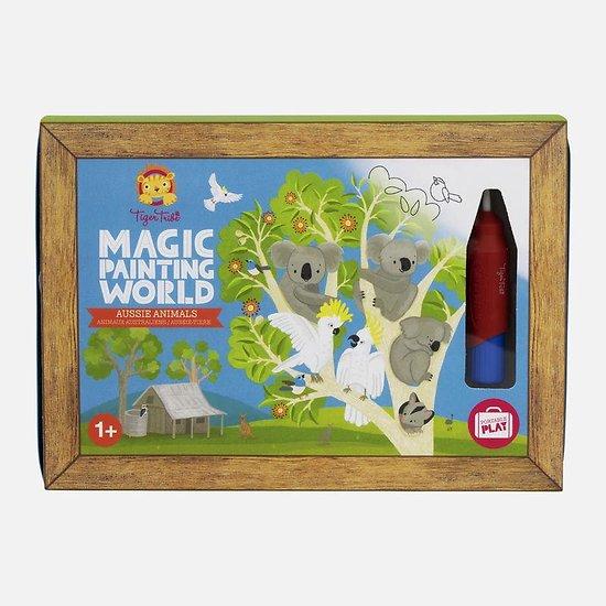 Coloriage magique - Australie