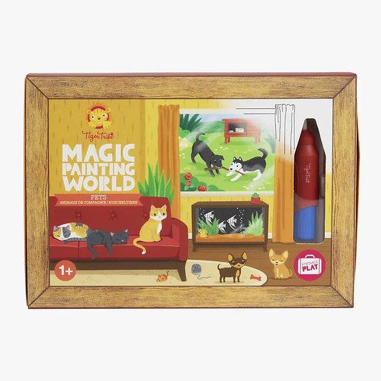 Coloriage magique - Animaux de compagnie