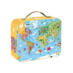 Puzzle géant 300 pièces - Le Monde/Ma planète - Janod