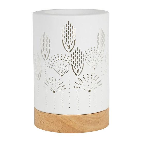 Lampe porcelaine diffuseur aromatique Sevent