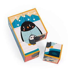 Cube bébé en bois Animaux WWF