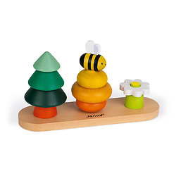 Jouet bébé Empilable petite abeille WWF